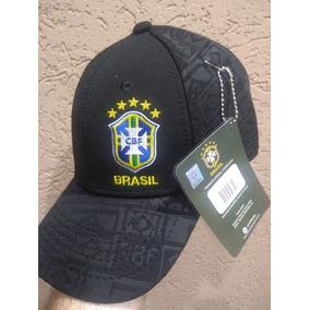deebc5f7a87fb Bone Selecao Brasileira Azul no Mercado Livre Brasil