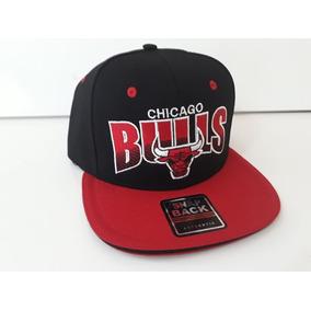 b42c2fd149082 Bone Chicago Bulls Aba Curva - Bonés para Masculino no Mercado Livre ...