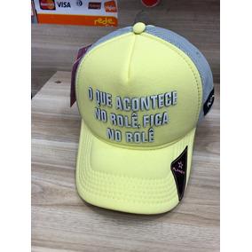 be5b2065b0bb2 Bone Aba Curva Com Frases - Bonés no Mercado Livre Brasil
