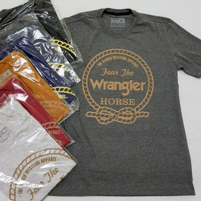 8d61d57b4152a Camiseta Wrangler Country Cinch King Roper Farm Sacudidos Tx