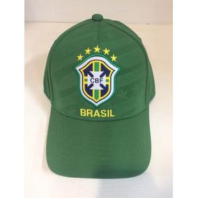 86955a4d87905 Boné Brasil Original Cbf Copa Do Mundo 2018 (cor Verde)