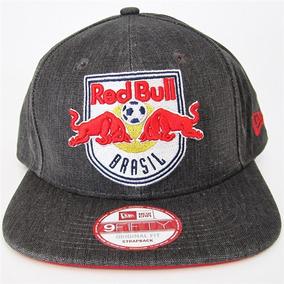 7bdd7a8d713b5 Boné New Era Red Bull Closed Soccer Strapback Boneneweraredb