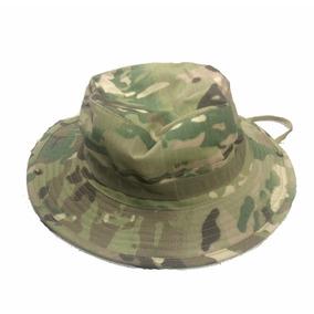 8818bf2d81329 Chapéu Boné Militar Boonie Hat Airsoft Caça Multicam Trilha
