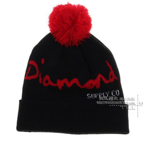 34972dbde5b1d Gorro Touca De Lã Beanie Diamond Supply Co. Vermelho