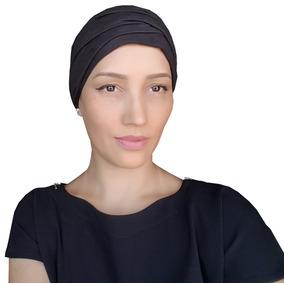 b1c77dceba52f Turbante Fechado Com Forro Antialérgico Câncer - Alopecia · 4 cores