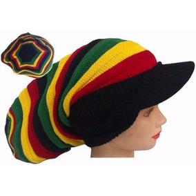 51ad71337cdaf Touca Boina Rasta Reggae - Acessórios da Moda no Mercado Livre Brasil