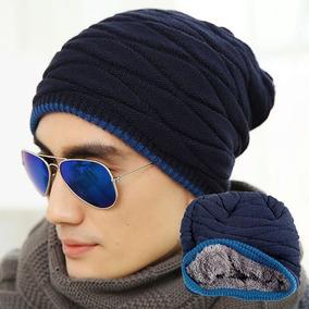 075f1fdcb8bd6 Touca Toca Gorro Lã Beanie Veludo Masculino Unissex Inverno · 3 cores