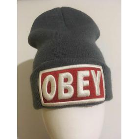 694a0a73e30c9 Touca Obey Cinza - Calçados