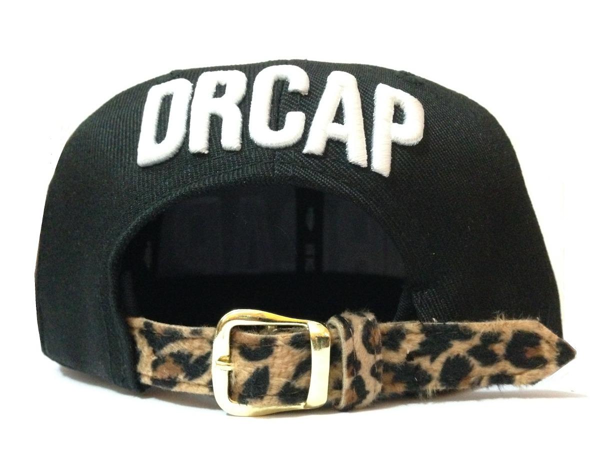 bonés snapback onça drcap leopard regulador plastica oncinha. Carregando  zoom. 08e36edd058