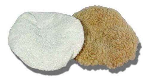 bonetes borlas para pulir y enserar 6 pulgadas 2piezas  3838