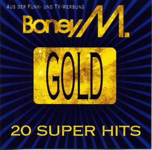 boney m / gold 20 super hits / cd