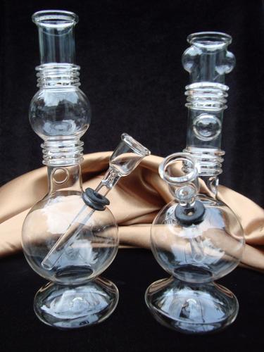 bong de 22 cm vidrio borosilicato alemàn pipa de agua bongs