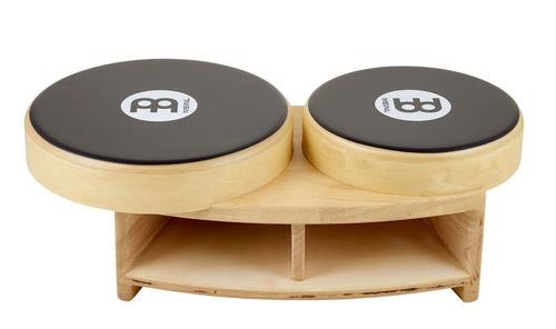 bongo cajon profesional madera meinl pbca1ntebk nuevo