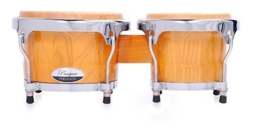bongo madera parquer rumba 7 y 8.5 parche piel metal cuota