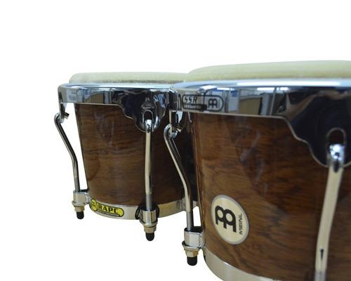 bongo meinl 4&8  rapc bubinga parche/cuero nuevos de paquete