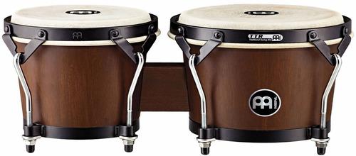 bongo meinl htb100wbm 6 3/4 + 8 musica pilar