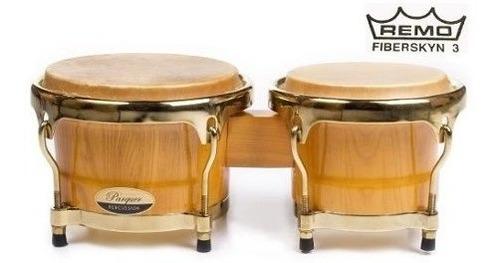 bongos parquer master pro 7 y 8.5 parche remo