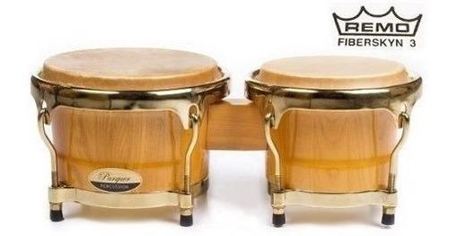 bongos parquer master pro 7 y 8.5 parche remo cuota