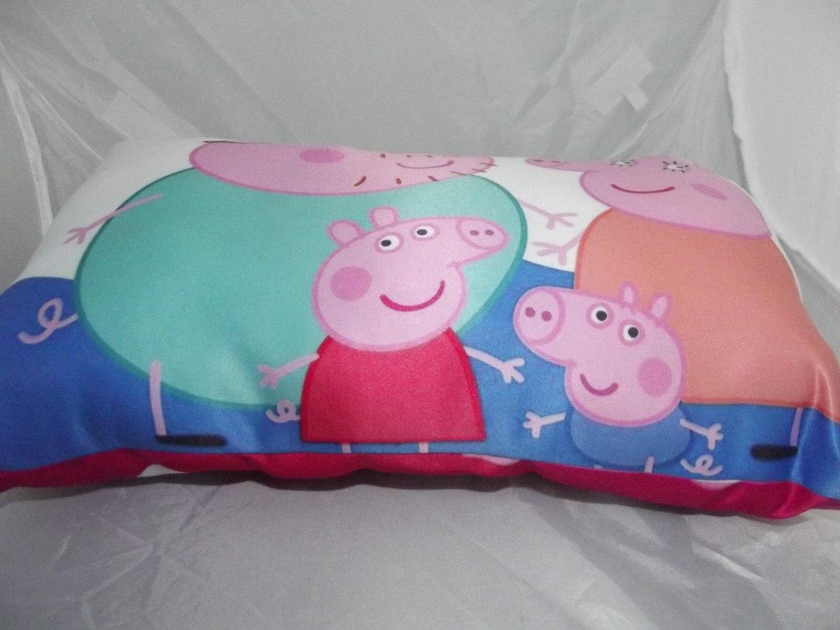 Bonita Almohada De Peppa Pig Doble Vista