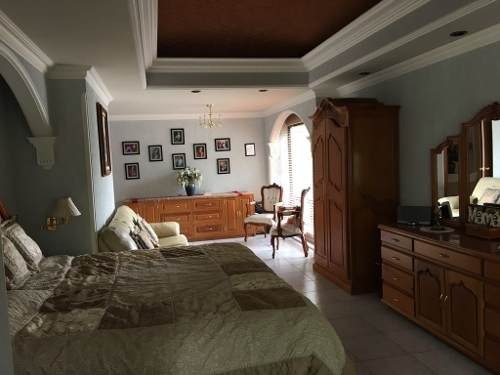 bonita casa amueblada en renta en campestre potosino de golf, s.l.p.