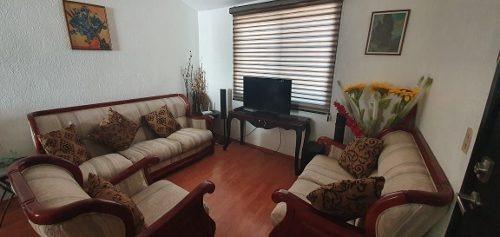 bonita casa equipada con muebles atrás de aurrera