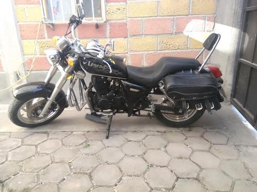 bonita moto qlink legend 250 cc 2013