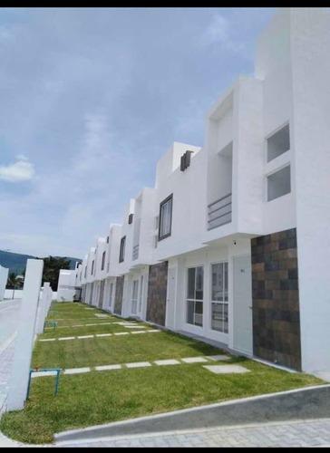 bonitas y pocas casas en condominio de descanso en morelos