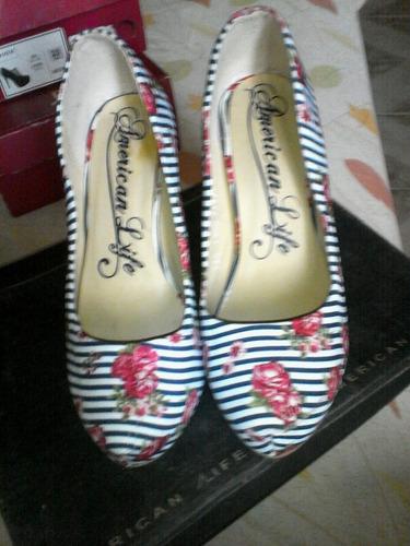bonitas zapatillas american life nuevas