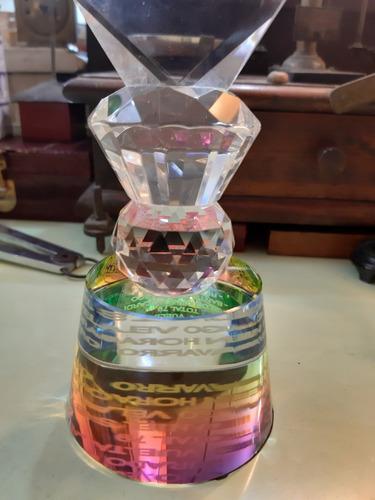 bonito adorno trofeo de golf cristal tallado oferta!