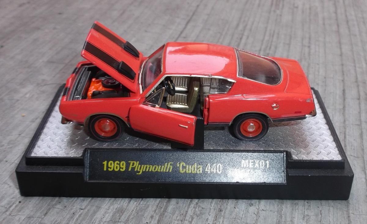 Bonito Carro Plymouth Barracuda 440  1969 - $ 250 00