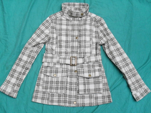 bonito chaqueta forrada nueva talle xs