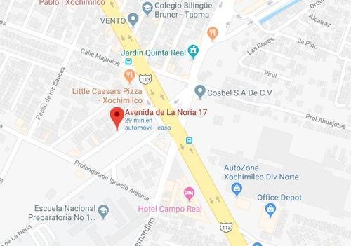 bonito departamento la noria xochimilco