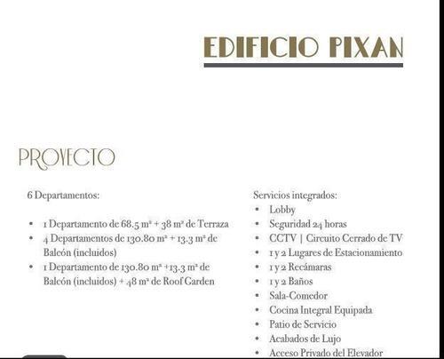bonito departamento nuevo en venta col. roma