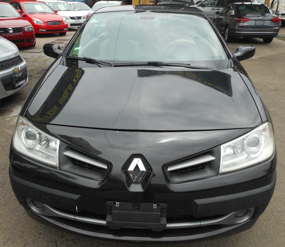 bonito megane coupe 2 cabriolet 2009 120 000 en mercado libre. Black Bedroom Furniture Sets. Home Design Ideas