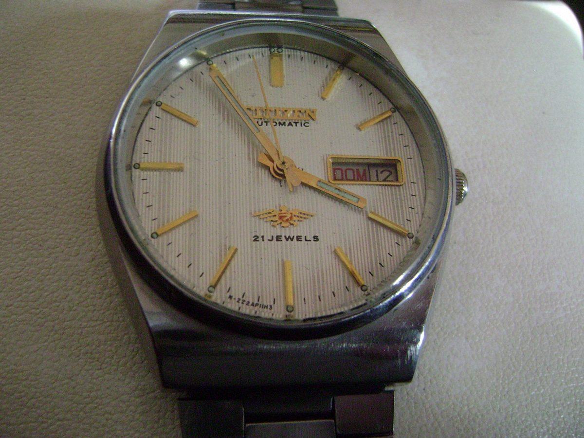 addf16d524955 Bonito Reloj Citizen Automático Vintage. Colección 80´s. -   799.00 ...