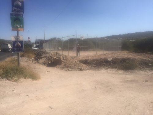 bonito terreno a pie del libramiento fray junípero serra