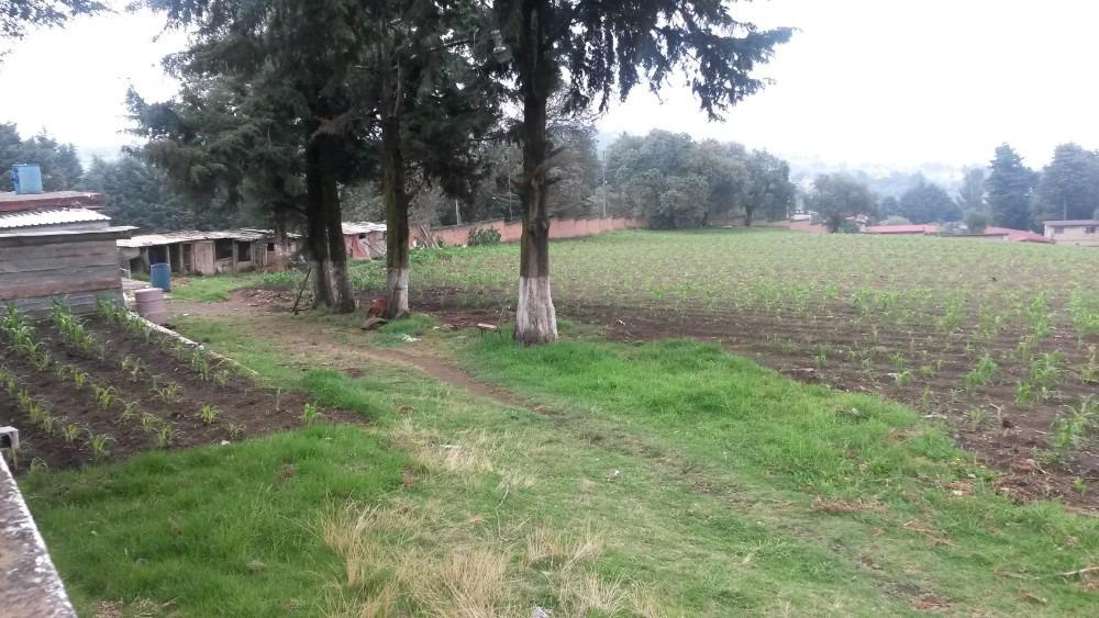 bonito terreno en topilejo. propiedad privada.