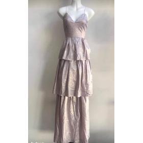 Bonito Vestido De Noche Dorado, Moderno Holanes