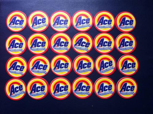 bonitos taps de ace  22 tazos de  amigos salvajes