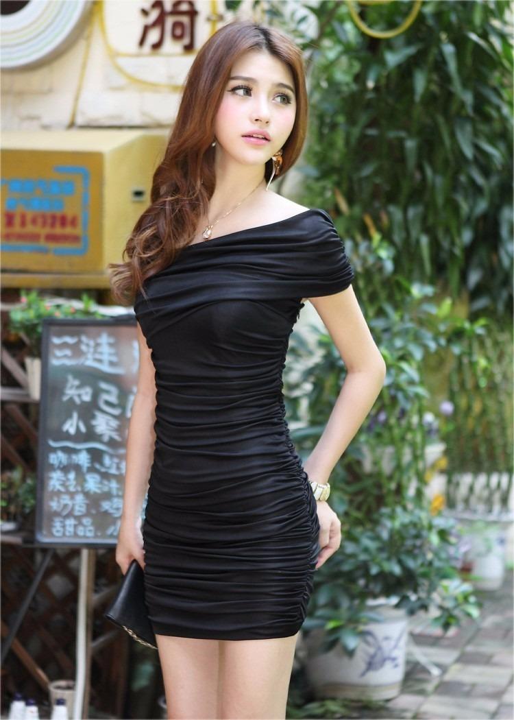 1d8a61602 Bonitos Vestidos Moda Oriental Para Antro Cortos -   320.00 en ...