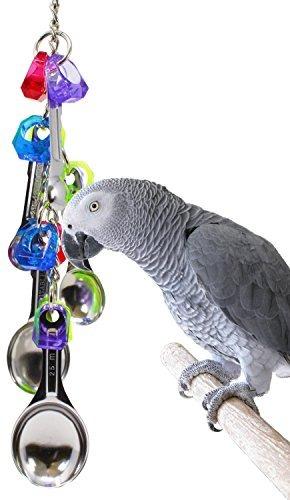 bonka bird toys 1969 spoon delight bird toy jaula de loro ju