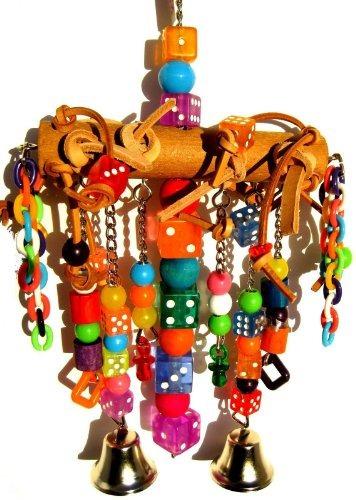 bonka juguetes de aves jaulas cadena de cuero 1746 de la ca