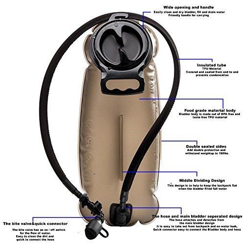 bonlex hidratación de la vejiga para el paquete de hidratac