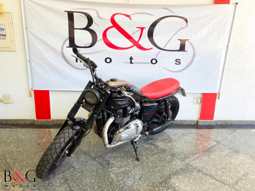 bonneville t100 865cc - customizada - 2015