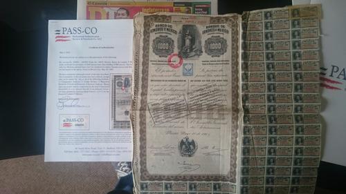 bonos mexicanos  queen victoria 1000