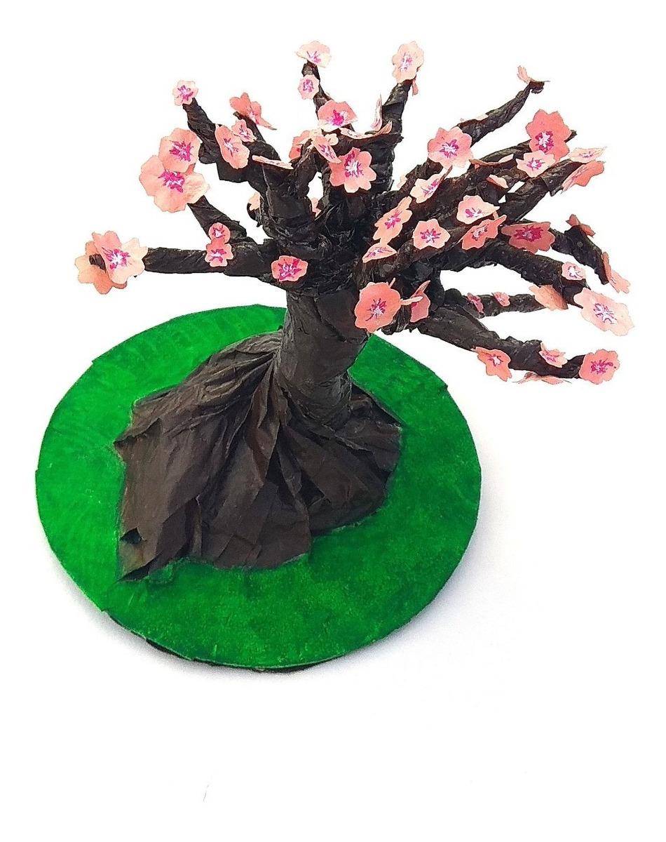 Arbol De Cerezo Japones bonsai Árbol de cerezo japonés sakura artesanal envío gratis