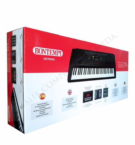 bontempi piano teclado