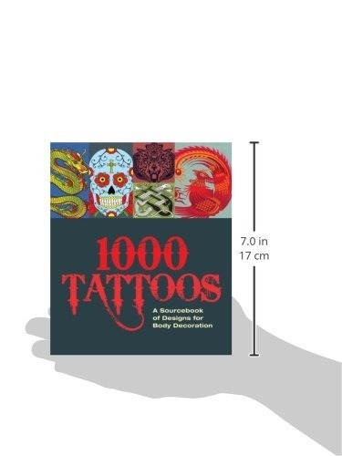 book : 1000 tattoos a sourcebook of designs for body...