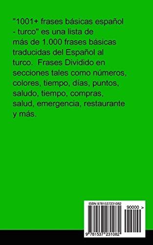 Book 1001 Frases Basicas Español Turco Spanish And