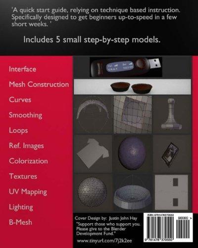 Book : 3d Modeling: Blender Basics By Example - Hay, Just